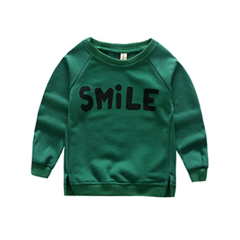Comfy SMILE Print Raglan Sleeve Pullover for Boy