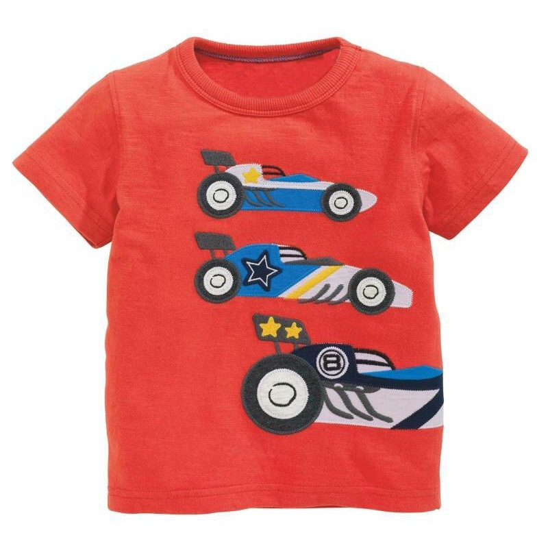 Go Racers Red Tee T-Shirt for Toddler Boys