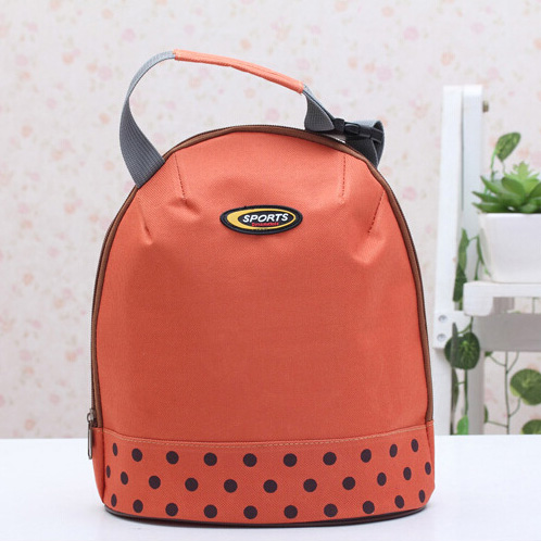 Trendy Dotted Insulated Handbag